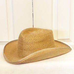Biltmore straw cowboy hat. Size Large Extra Large